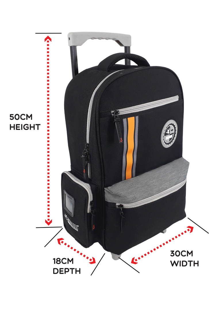 Swan Bag Comfort Roll Spinal Protection Back Support Swan Roll - Black