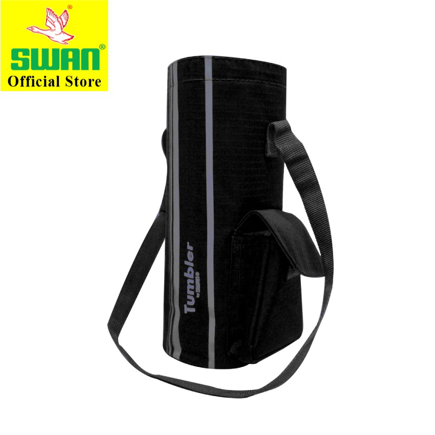 Swan Tumbler Water Bottle Carry Cover Bag